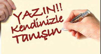Photo of Yazın!!! Kendinizle Tanışın