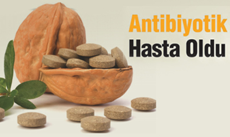 Antibiyotik Hasta Oldu