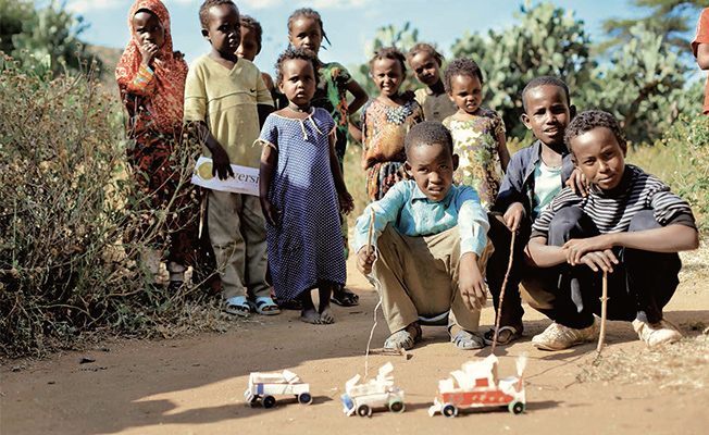 Photo of Afrika'da Çocuk Oyunları