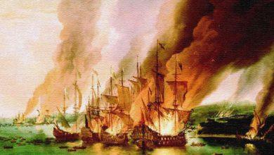 Kilit adam olduğunu gösteren Tarık bin Ziyad, gemileri yakmıştı